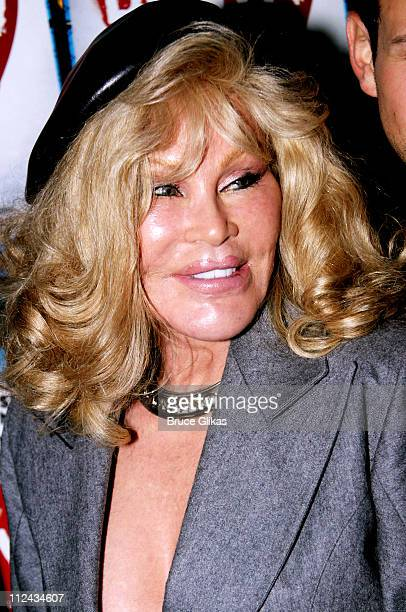 Jocelyne Wildenstein during 'Brooklyn' The Musical Opening at Plymouth Theatre in New York City New York United States