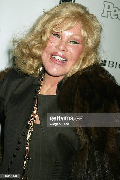 Jocelyne Wildenstein during People Magazine Presents Tapestry of Entertainers Coming Together to Benefit the Drama Dept at Lot 61 in New York City...