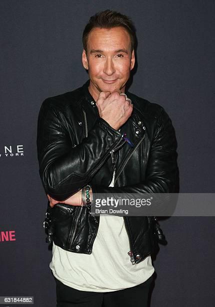 Jochen Bendel attends the Maybelline Hot Trendsxhbition 2017 show during the MercedesBenz Fashion Week Berlin A/W 2017 at Motorenwerk on January 16...