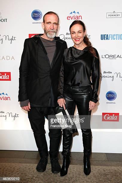 Jochen Nickel and Sonja Kirchberger attend the 'Berlin Opening Night Of Gala Ufa Fiction on February 05 2015 in Berlin Germany