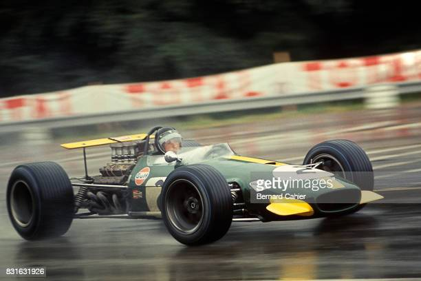 Jochen Rindt BrabhamRepco BT26 Grand Prix of France RouenLesEssarts 07 July 1968