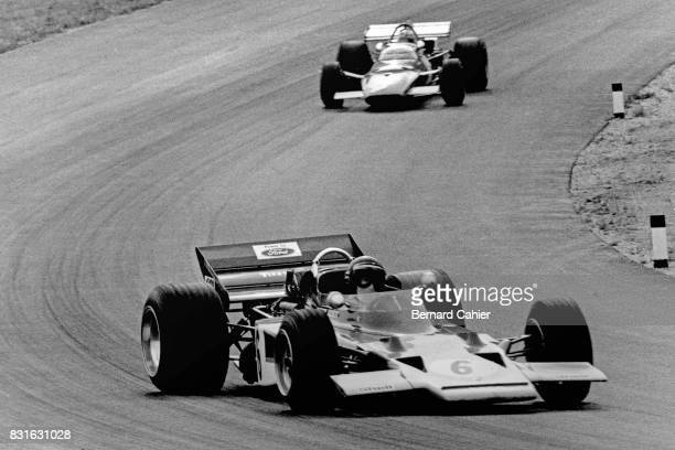Jochen Rindt Clay Regazzoni LotusFord 72C Ferrari 312B Grand Prix of Austria Zeltweg 16 August 1970