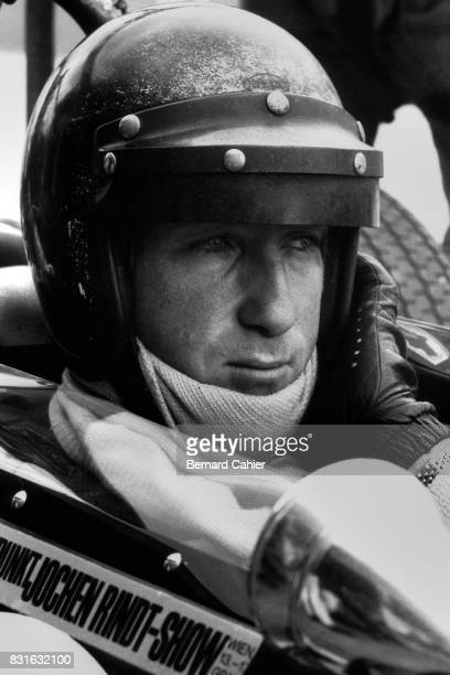 Jochen Rindt Grand Prix of Germany Nurburgring 04 August 1968