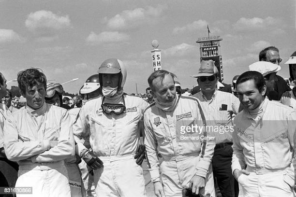 Jochen Rindt Jim Clark David Hobbs John Surtees Pedro Rodriguez Grand Prix of Germany Nurburgring 06 August 1967