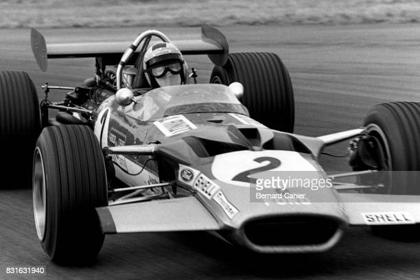 Jochen Rindt LotusFord 49B Grand Prix of Great Britain Silverstone 19 July 1969