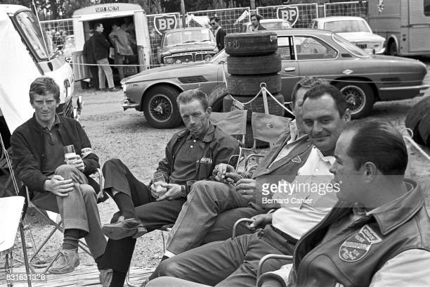 Jochen Rindt Richie Ginther Jerry Grant 24 Hours of Le Mans Le Mans 19 June 1966