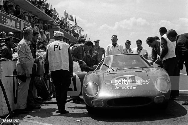 Jochen RindtGregory Ferrari 250LM 24 Hours of Le Mans Le Mans 20 June 1965