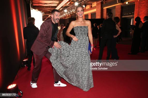 Jochen Schropp and Kerstin Linnartz during the 'Tribute To Bambi' gala at Station on October 5 2017 in Berlin Germany