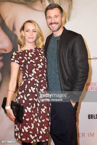 Jochen Schropp and Simone Hanselmann attend the premiere of 'Whatever happens' at Astor Film Lounge on November 21 2017 in Berlin Germany