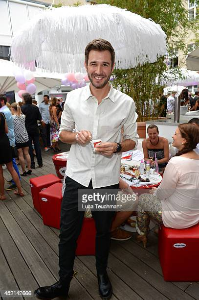 Jochen Schropp attends the Gala Fashion Brunch at Ellington Hotel on July 11 2014 in Berlin Germany
