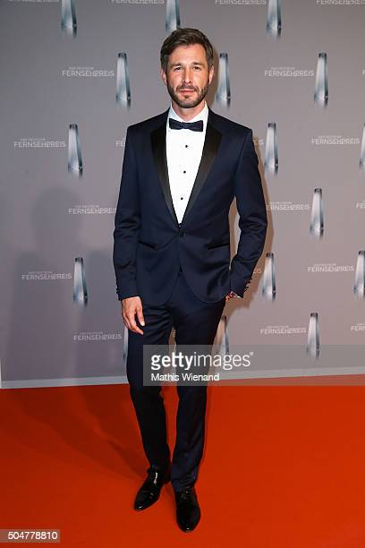 Jochen Schropp attends the German Television Award at Rheinterrasse on January 13 2016 in Duesseldorf Germany