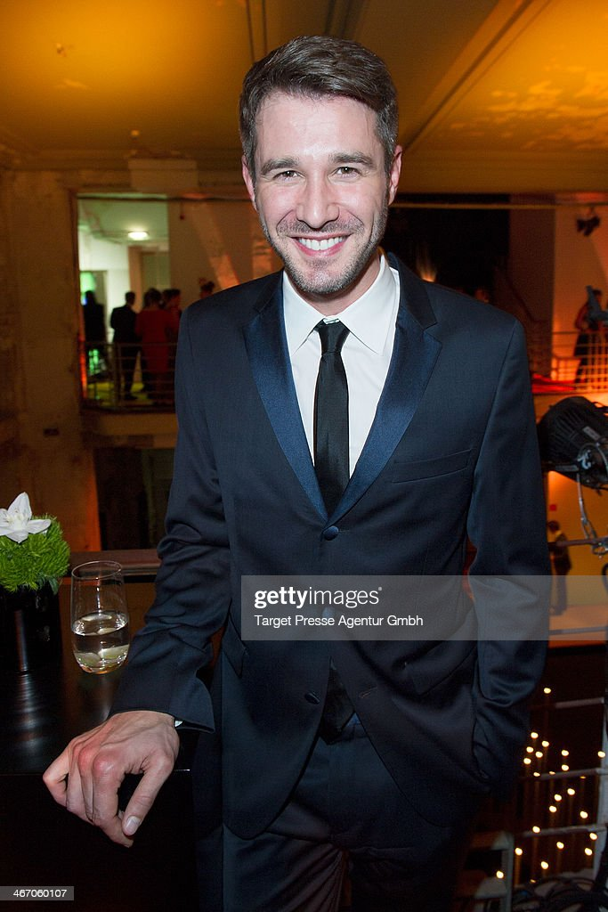 Jochen Schropp attends the Moet & Chandon Grand Scores at Kaufhaus Jandorf on February 5, 2014 in Berlin, Germany.