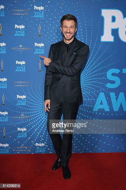 Jochen Schropp attends the PEOPLE Style Awards at Hotel Vier Jahreszeiten on March 7 2016 in Munich Germany