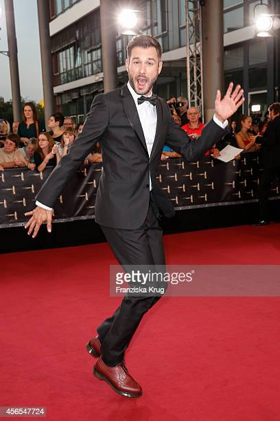 Jochen Schropp attends the red carpet of the Deutscher Fernsehpreis 2014 on October 02 2014 in Cologne Germany