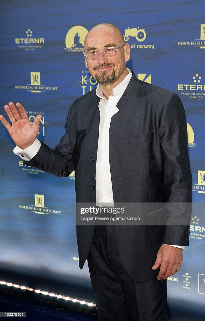 Jochen Schweizer attends the 'Kon-Tiki' Premiere at Kino International on March 6, 2013 in Berlin, Germany.