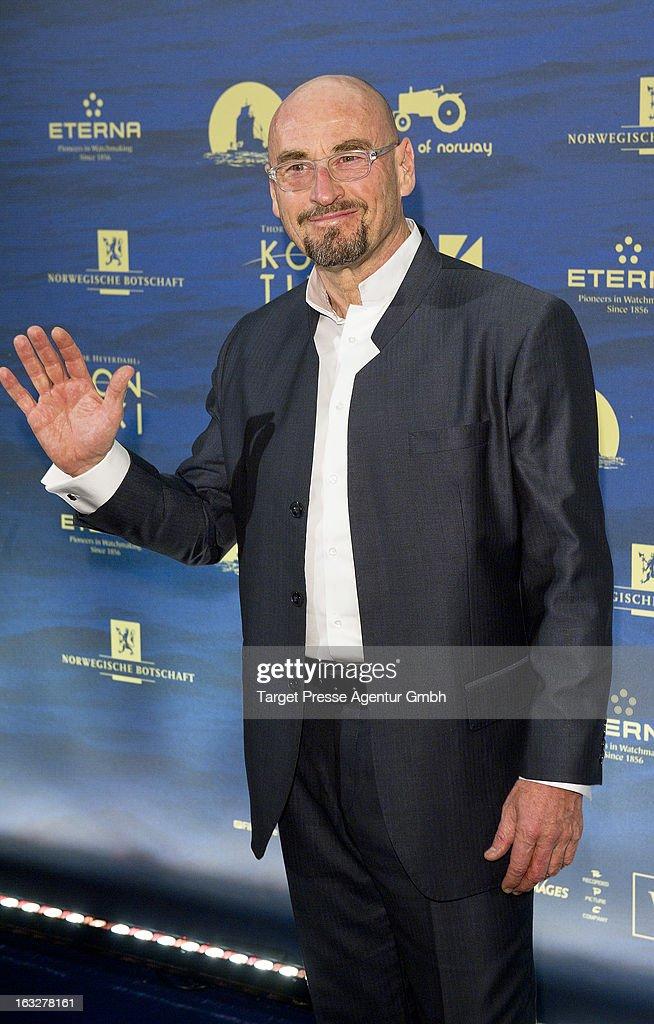 Jochen Schweizer attends the 'Kon-Tiki' Premiere at Kino International on March 6, 2013 in Berlin, Germany.
