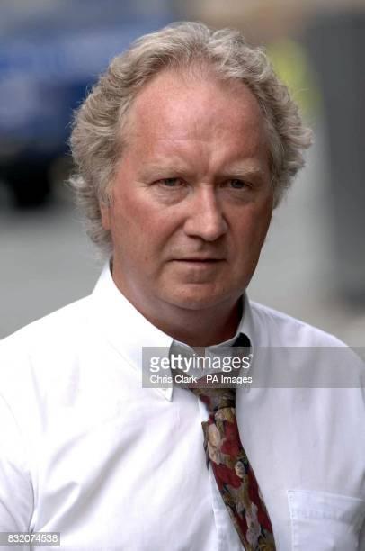 Jock Penman arrives at the Court of Session in Edinburgh for former Scottish Socialist leader Tommy Sheridan's ongoing 200000 defamation action...