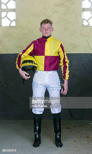 Jockey at Racecourse
