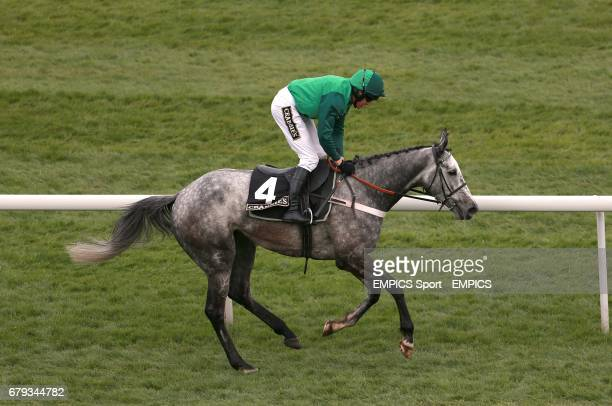 Jockey Barry Geraghty on board Ma Filleule for the Crabbie's Supporting Everton In The Community Topham Chase