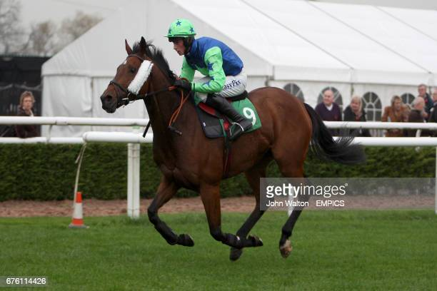 Jockey Brian Toomey on Incorporation during the Freebetscouk Handicap Chase