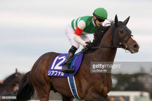 Jockey Christophe Lemaire riding Lia Fail during the Arima Kinen The Grand Prix at Nakayama Racecourse on December 27 2015 in Funabashi Chiba Japan