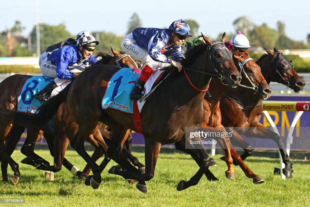 Jockey Craig Williams rides Southern Speed to win race 6 the John Dillon Stakes during Greater Dandenong Race Day at Caulfield Racecourse on January...