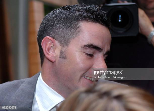 Jockey Fergal Lynch leaves the Horseracing Regulatory Authority today