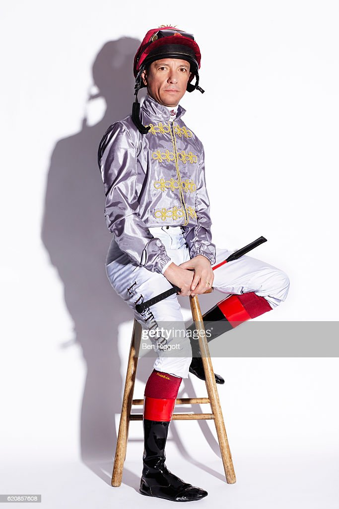 Jockey Frankie Dettori is photographed on January 17, 2016 in Epsom, England.