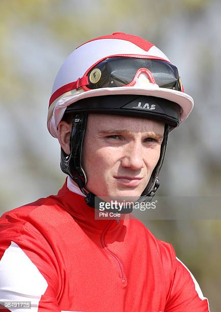 Jockey Freddie Tylicki on April 15 2010 in Newmarket England