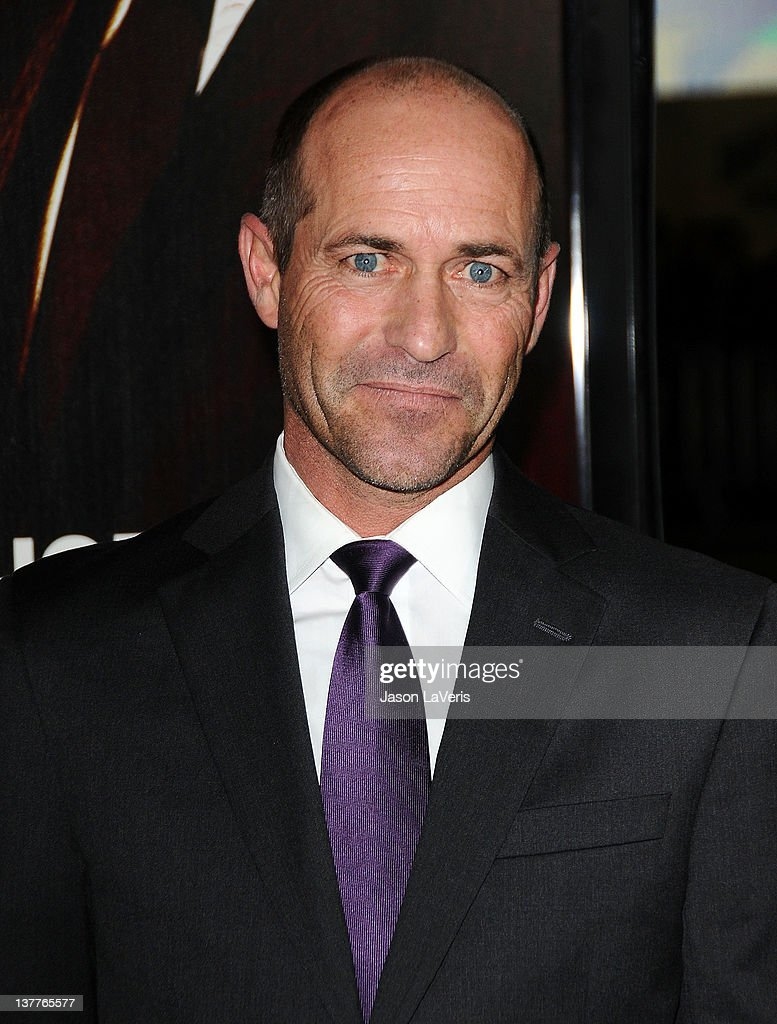 Jockey <a gi-track='captionPersonalityLinkClicked' href=/galleries/search?phrase=Gary+Stevens+-+Jockey&family=editorial&specificpeople=15617910 ng-click='$event.stopPropagation()'>Gary Stevens</a> attends the premiere of HBO's new series 'LUCK' at Grauman's Chinese Theatre on January 25, 2012 in Hollywood, California.