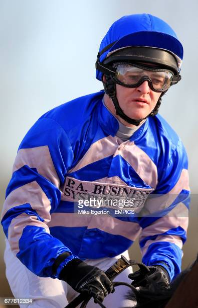 Jockey Graham Gibbons after his ride on Suddenly Susan in the Play The Big Money totejackpot Today Handicap