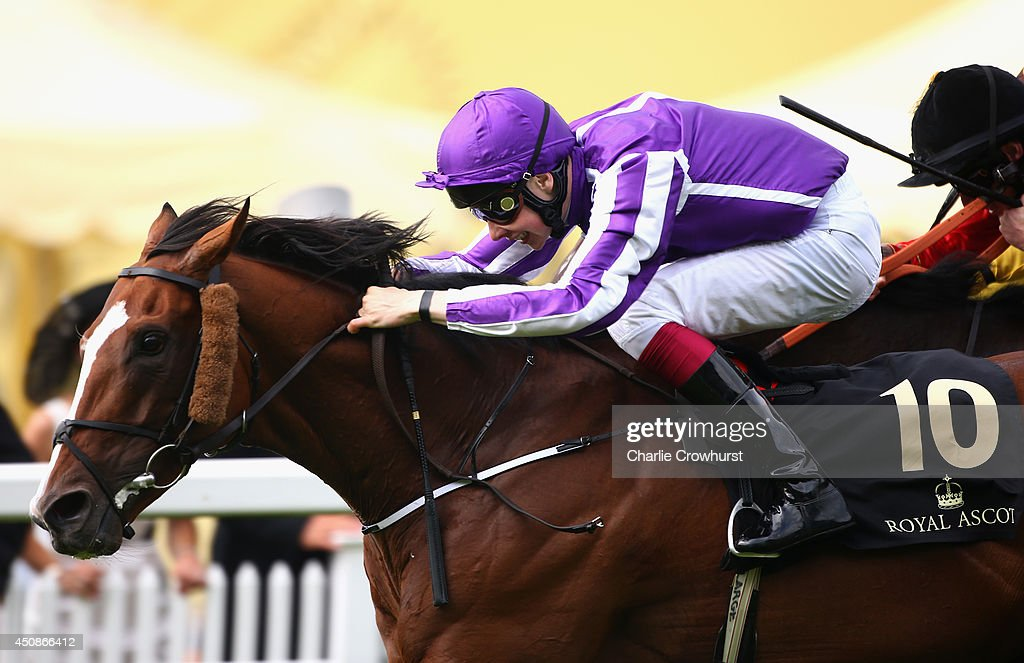 Jockey <a gi-track='captionPersonalityLinkClicked' href=/galleries/search?phrase=Joseph+O%27Brien+-+Jockey&family=editorial&specificpeople=12884576 ng-click='$event.stopPropagation()'>Joseph O'Brien</a> riding Leading Light wins the Gold Cup during day three of Royal Ascot at Ascot Racecourse on June 19, 2014 in Ascot, England.