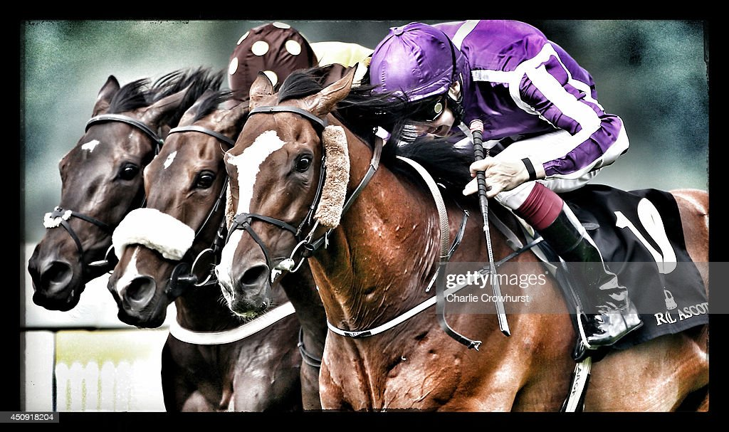 Jockey <a gi-track='captionPersonalityLinkClicked' href=/galleries/search?phrase=Joseph+O%27Brien+-+Jockey&family=editorial&specificpeople=12884576 ng-click='$event.stopPropagation()'>Joseph O'Brien</a> riding Leading Light (R) wins the Gold Cup during day three of Royal Ascot at Ascot Racecourse on June 19, 2014 in Ascot, England.