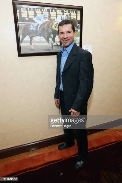 Jockey Kent Desormeaux attends the Moves Magazine Annual Super Bowl Gala on February 3 2010 in Hallandale Florida