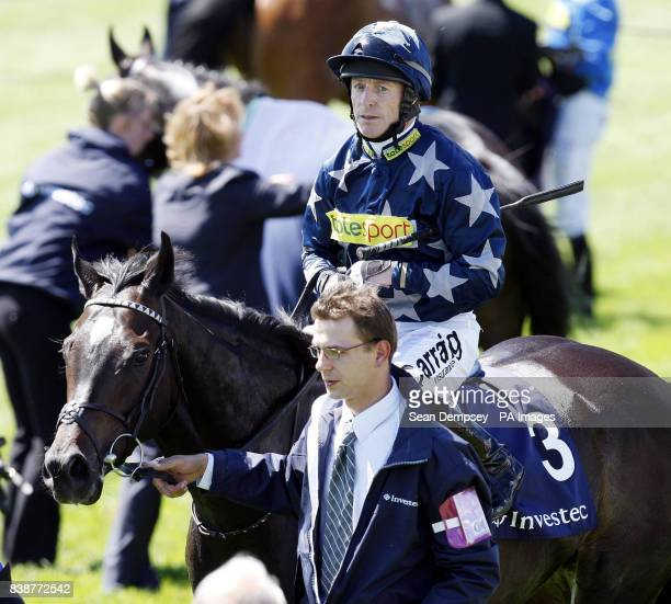 Jockey Kieren Fallon during Ladies Day at the Investec Derby Festival Epsom Downs Racecourse