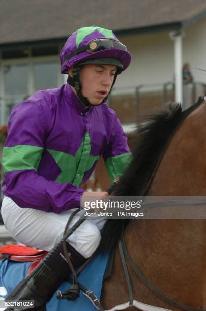 Jockey Lance Betts at Beverley racecourse