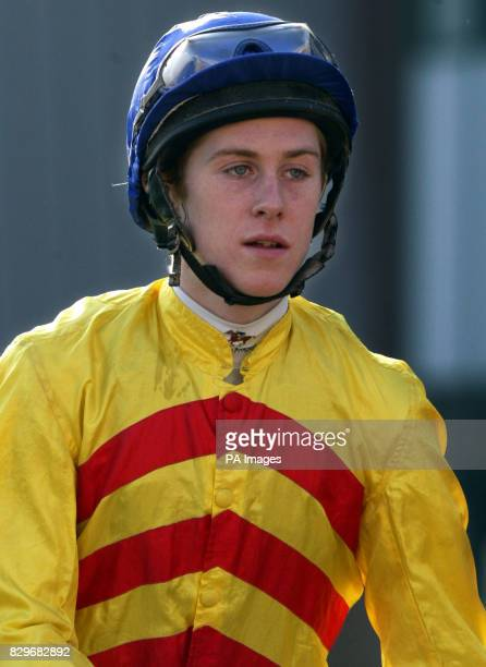 Jockey Luke Fletcher Today Wolverhampton Monday 1 March 2004 Photo Nick Potts/PA Sport