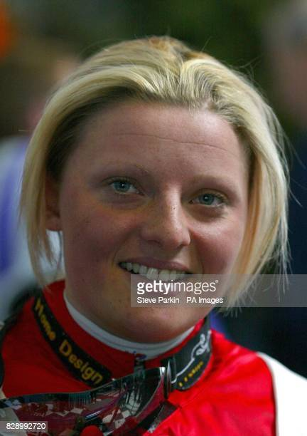 Jockey Miss Leanne Kershaw at Doncaster races