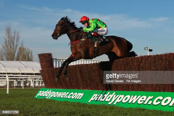 Jockey Richard Johnson on Court In Session during the Independent Newspaper Novices Chase