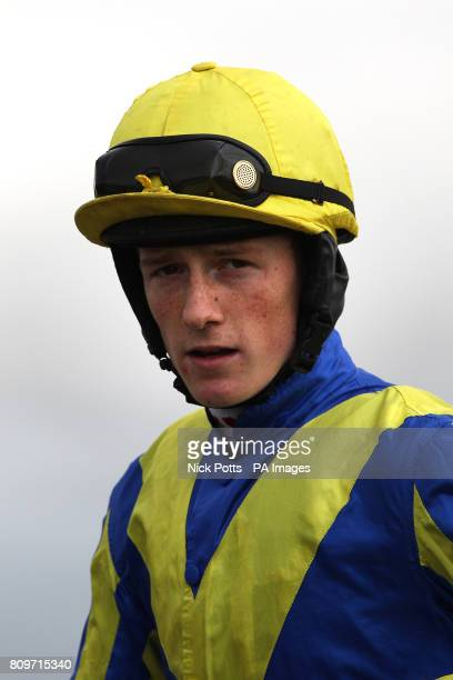 Jockey Sam TwistonDavies prior to his ride on Cootehill in the Betfair iPhone And Android App Handicap Chase