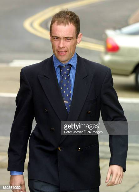 Jockey Timmy Murphy arriving at Uxbridge Magisrates Court where he was committed to Isleworth Crown Court on charges of indecent assault and being...