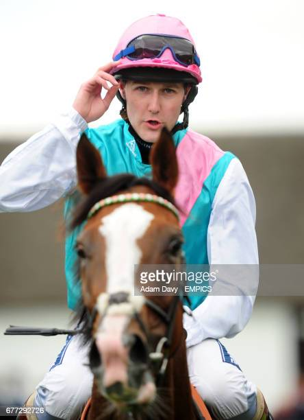Jockey Tom Queally celebrates on Timepiece after winning the Ethihad Airways Falmouth Stakes