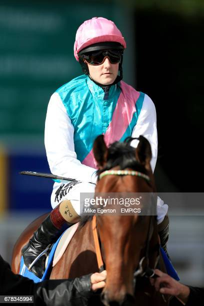 Jockey Tom Queally on board Morpheus prior to the British Stallion Studs Supporting British Racing EBF Maiden Stakes