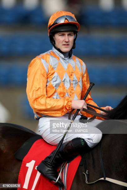 Jockey Tom Queally on Footsie prior to the UK Coal EBF Maiden Fillies' Stakes