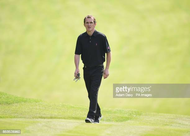 Jockey Tony McCoy during the Pro/Am for the BMW PGA Championship at the Wentworth Club Surrey