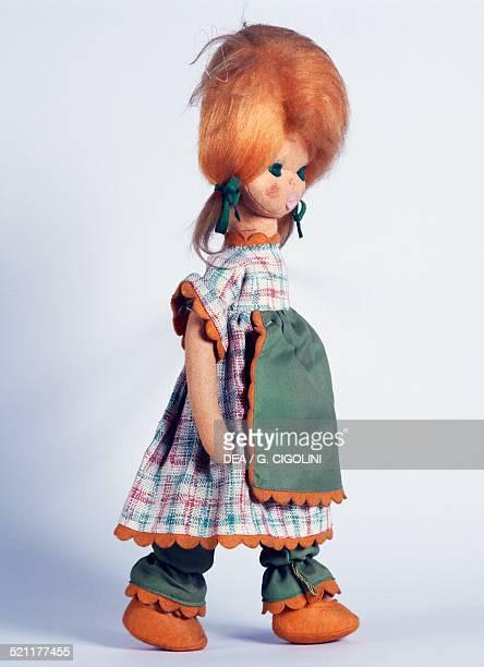 Joconda felt doll made by Lenci height 45 cm Italy 20th century Italy