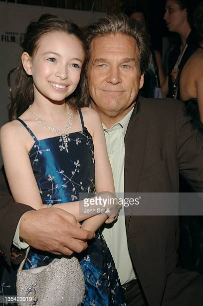 Jodelle Ferland and Jeff Bridges during 2005 Toronto Film Festival 'Tideland' Premiere at Elgin Theatre in Toronto Canada