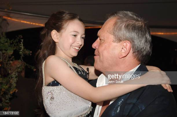 Jodelle Ferland and Terry Gilliam director during 2005 Toronto Film Festival 'Tideland' After Party at Waterside Bistro in Toronto Canada