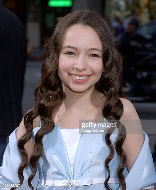 Jodelle Ferland during 'Silent Hill' Los Angeles Premiere Arrivals at Egyptian Theatre in Hollywood California United States