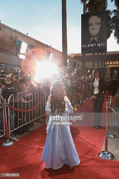 Jodelle Ferland during World Premiere of TriStar Pictures' 'Silent Hill' at Egyptian Theatre in Hollywood California United States